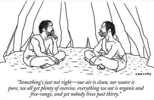 Cavemen Can't Understand It
