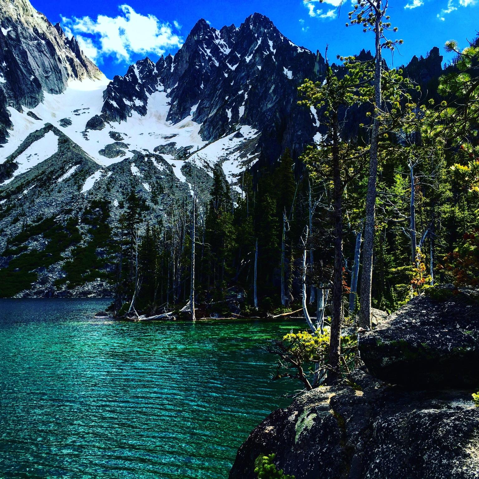 Colchuck Lake. Thanks Washington.