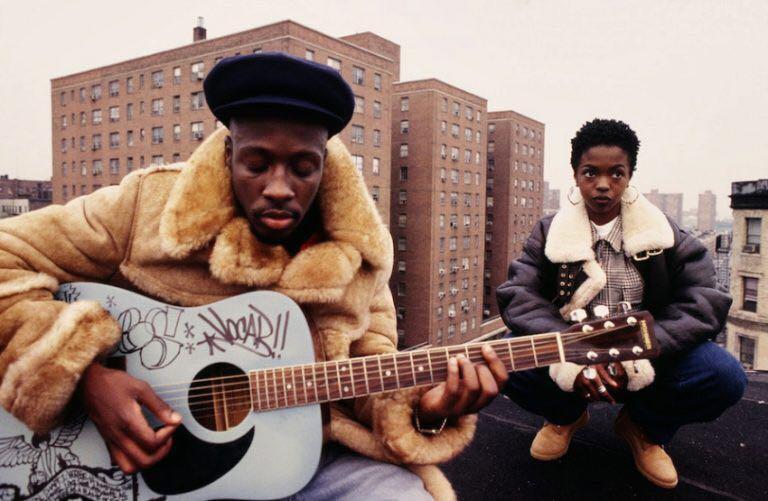 Fugees on a Harlem rooftop