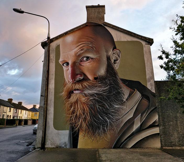 Incredible street art in Waterford, Ireland