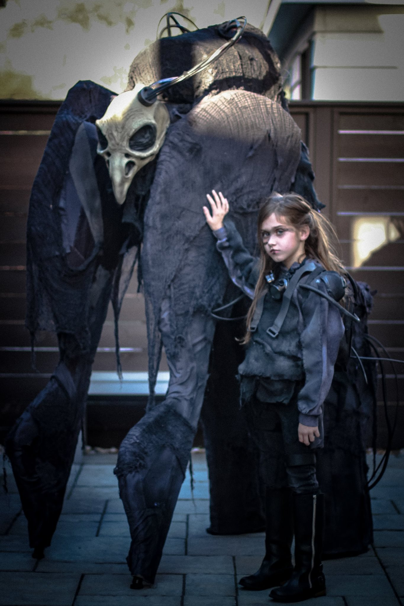 My daughter and I are ready to terrorize the neighborhood again this Halloween.
