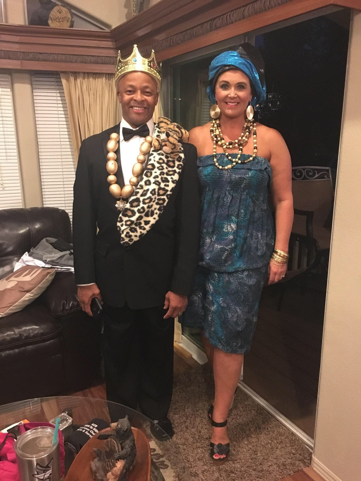 parents going with a coming to america theme for an 80 u2019s costume party