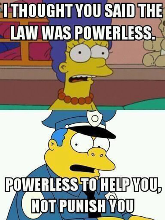 Police Logic These Days