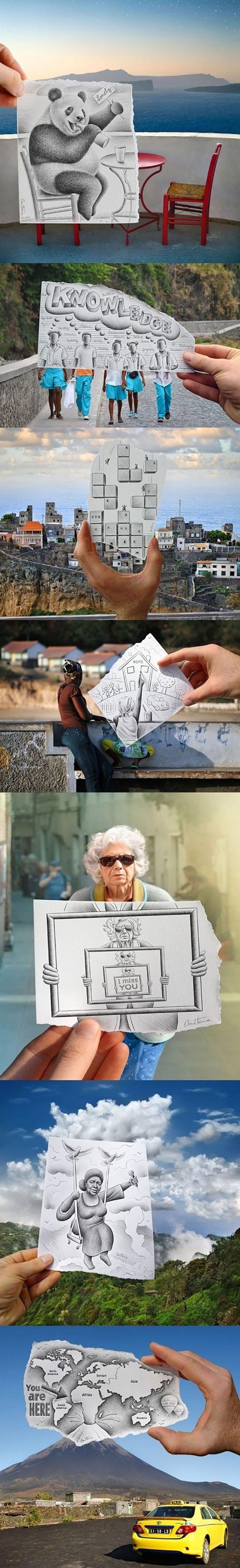 Reality meets art