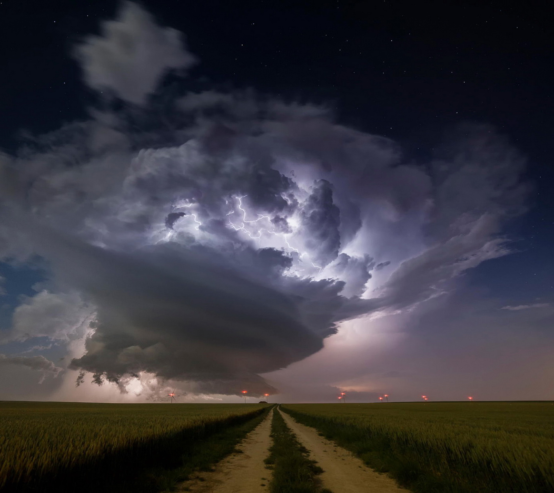 Storm chaser road