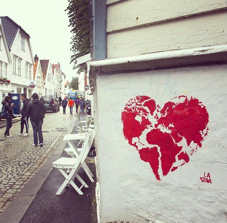 Street art in Bergen, Norway