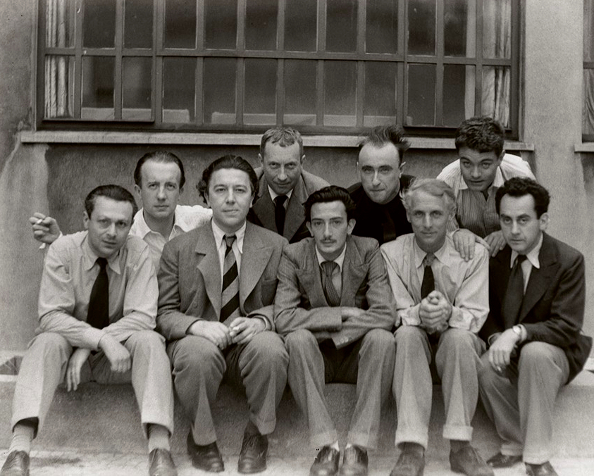 Surrealists, 1933.