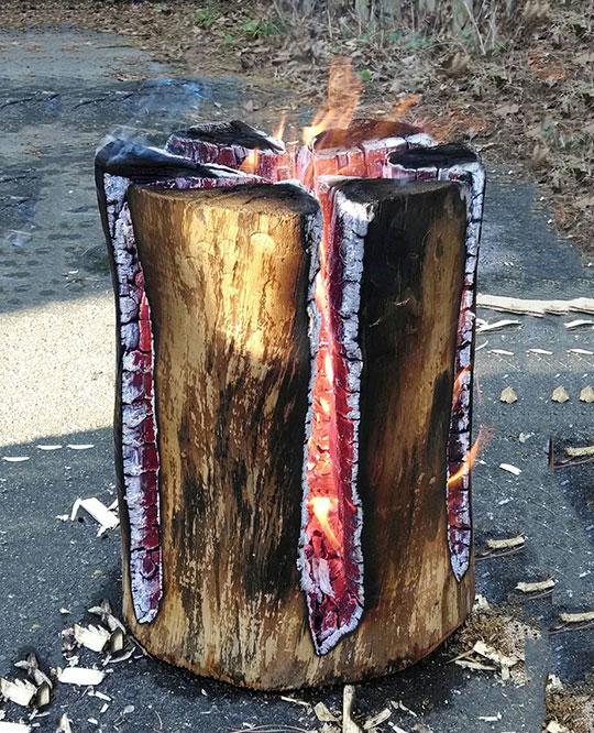 Swedish Fire Log, It