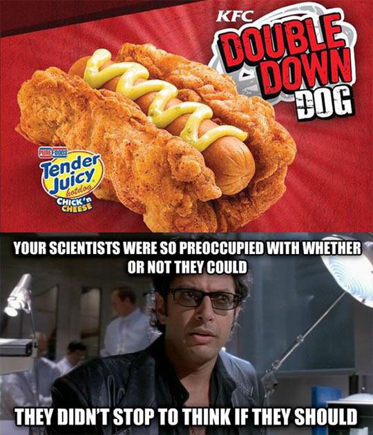 You Went Too Far, KFC