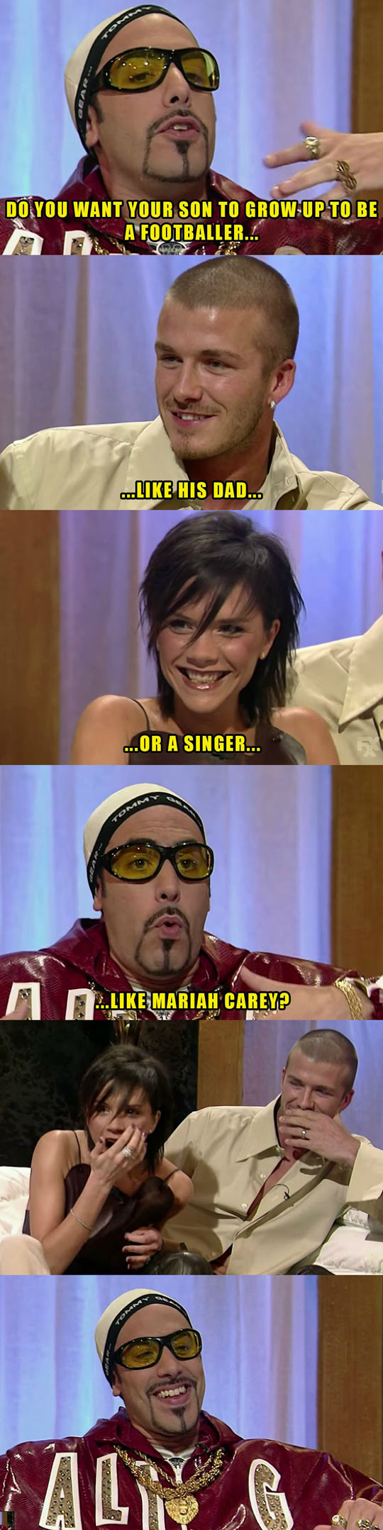 Ali G Asks Some Questions