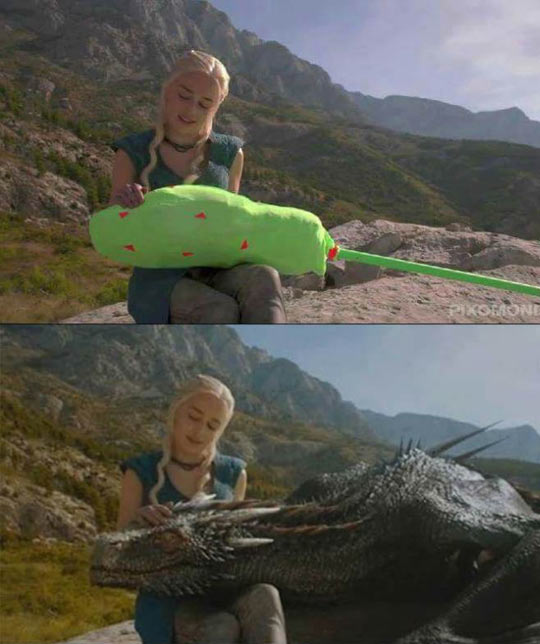 Game Of Thrones With No Effects Is Weird