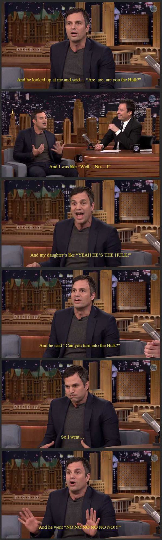 That Time Ruffalo Took His Daughter To Preschool