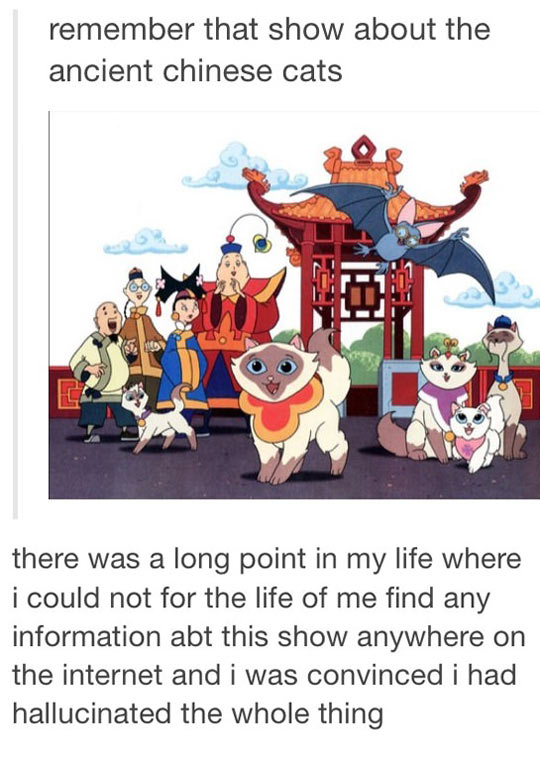 That Show With The Chinese Cats
