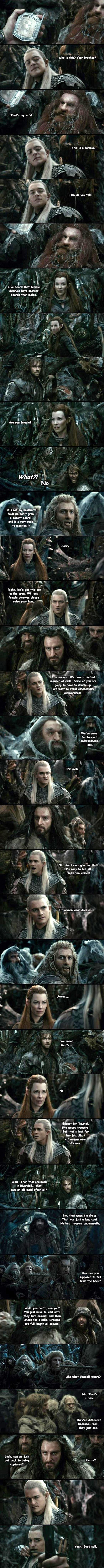 Elves And Dwarves Conundrum