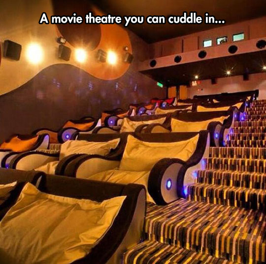 Watching Movies More Comfortably
