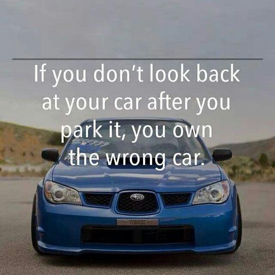 Wrong Car