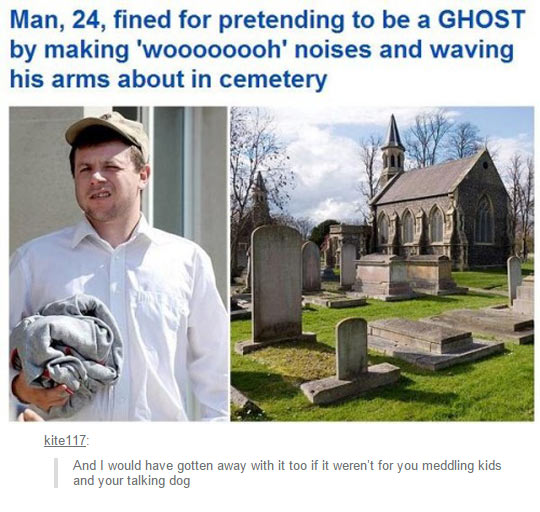 cool-ghost-making-noises-waving-cemetery