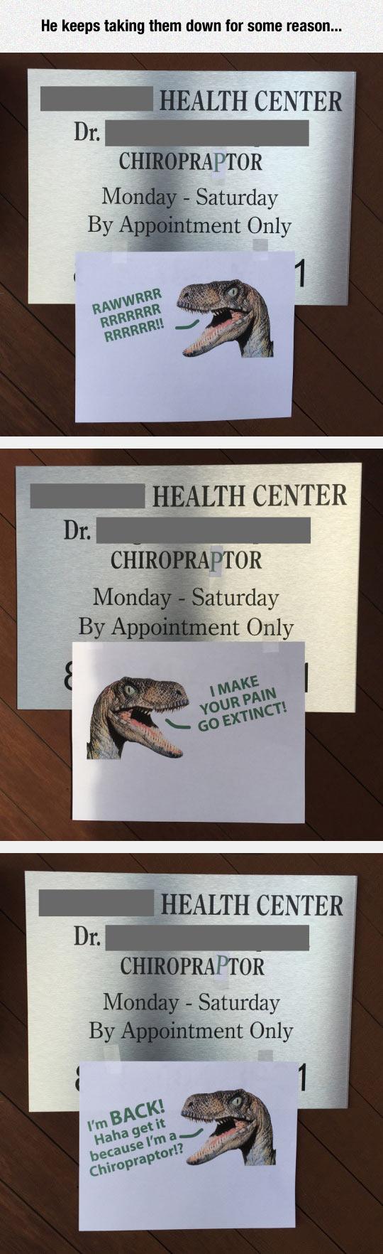 cool-health-center-plate-prank-dinosaur