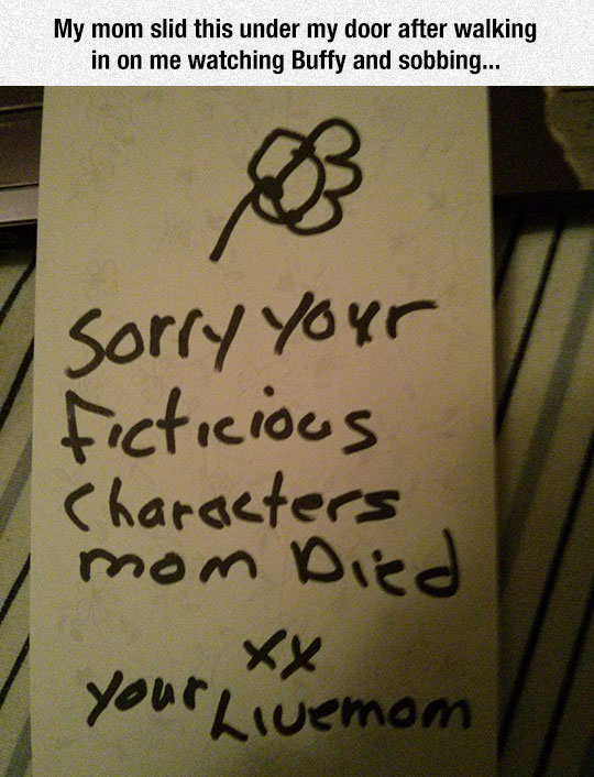 Mom Is Sorry