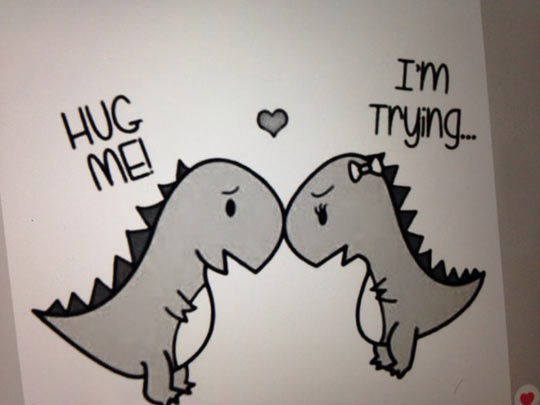 T-Rex Couple
