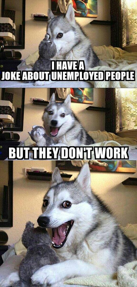 cool-pun-dog-strikes-unemployed