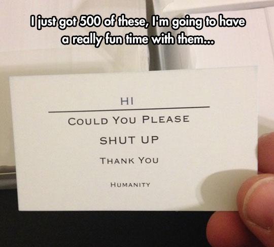 Useful Cards