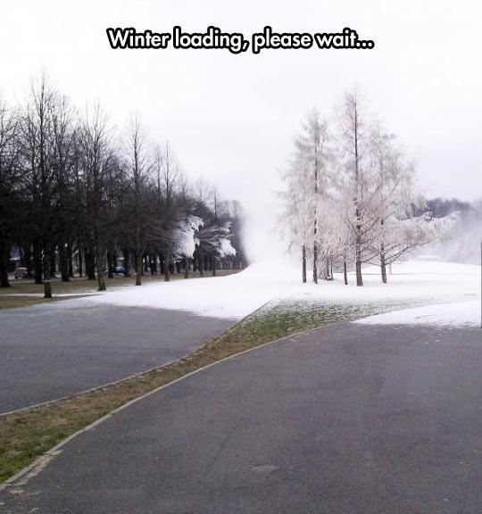 How Winter Happens