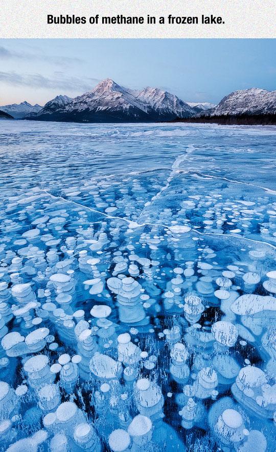 Frozen Lake Beauty