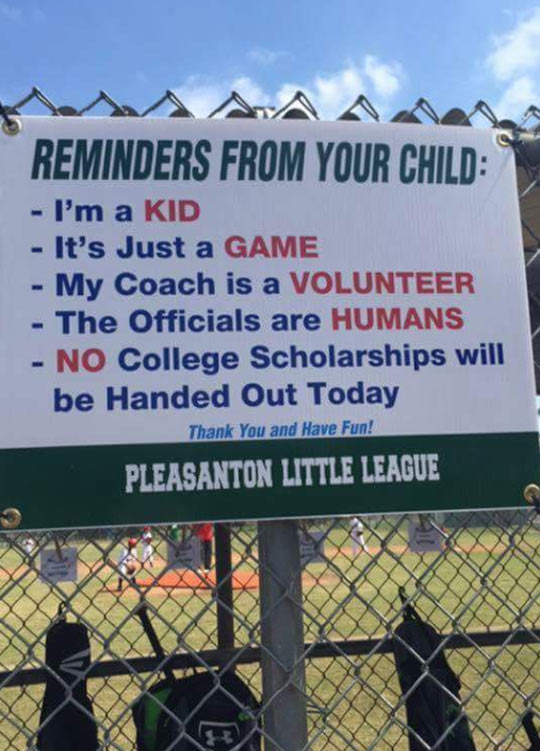 Little League Problems
