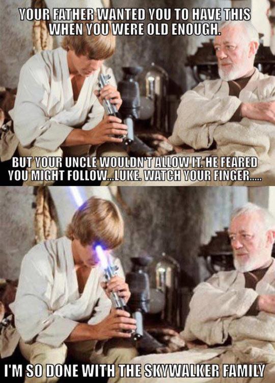Careful Luke