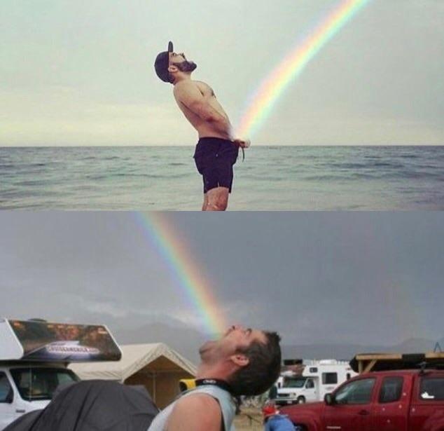 Feel the rainbow, taste the rainbow