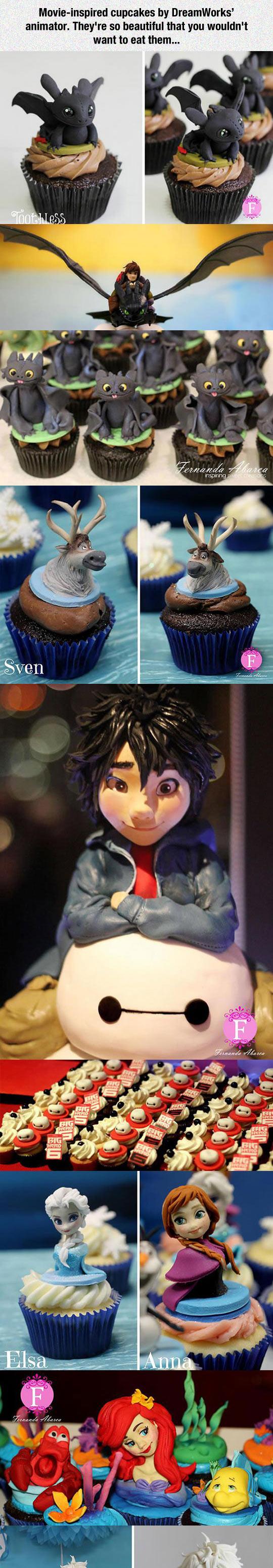 Movie-Inspired Cupcakes
