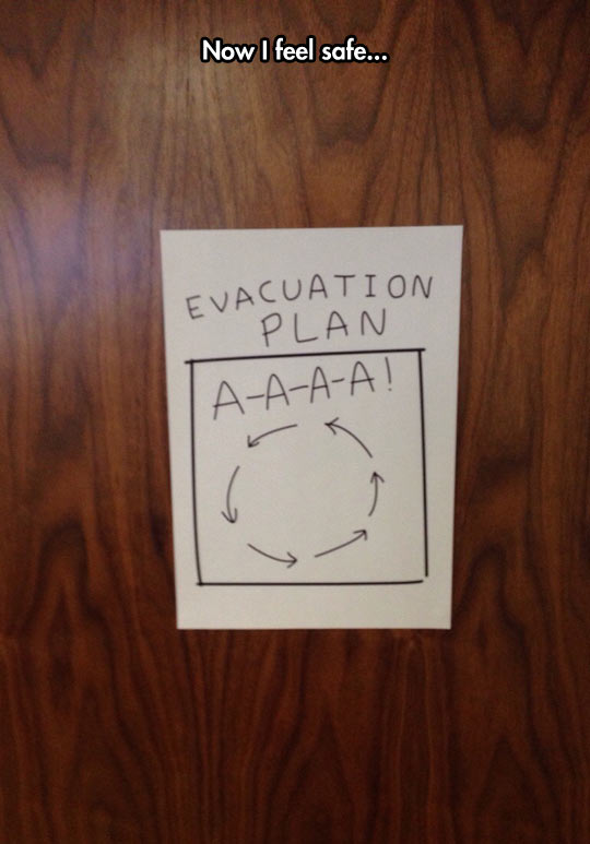 Perfect Evacuation Plan