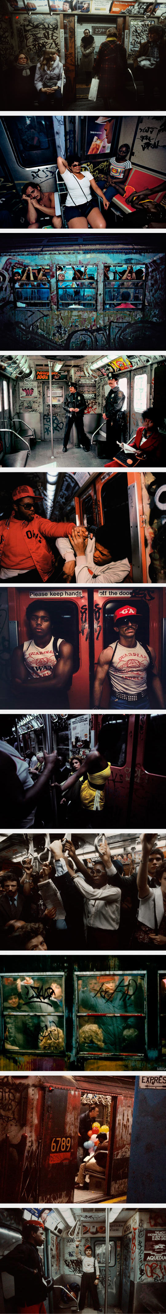 New York City Subway Photos Taken In The 80s