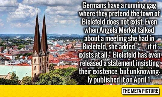 I Love The German Sense Of Humor