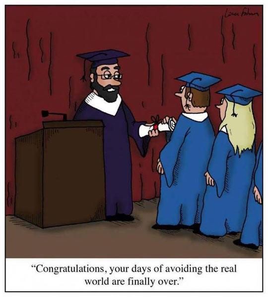 Graduating From Graduate School