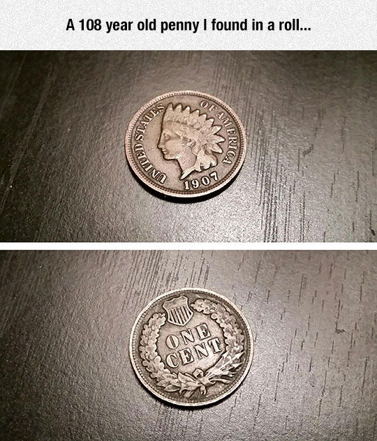 old-penny-American-coin