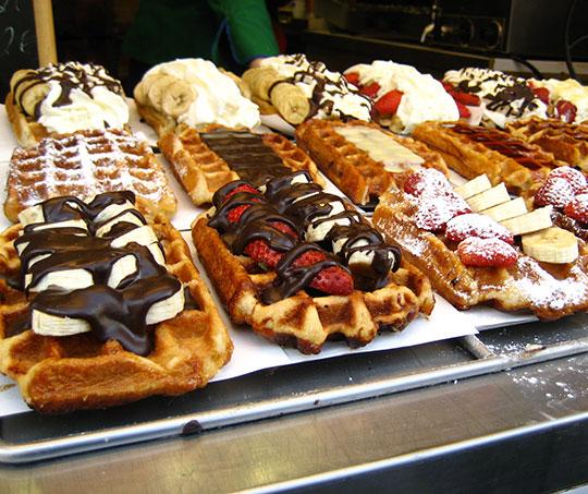 Epic Belgian Waffles