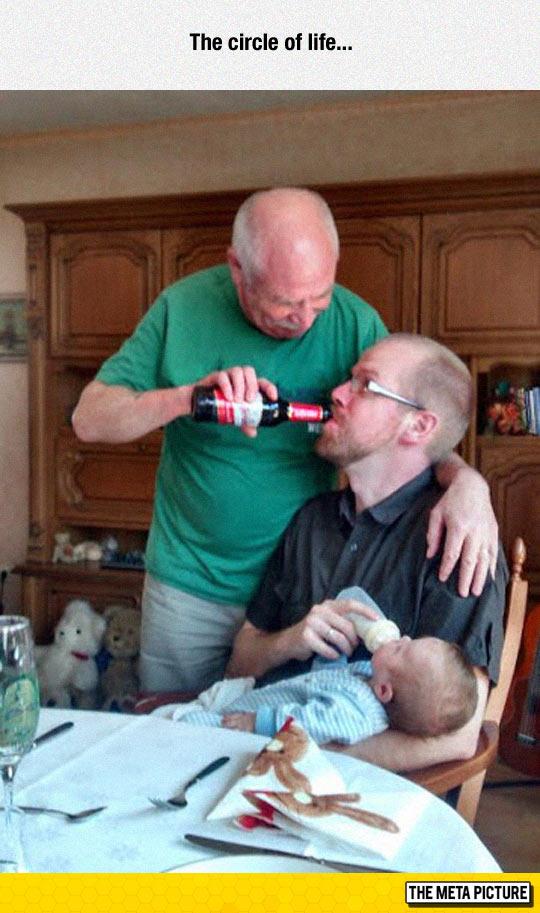 Three Generations Doing It Right
