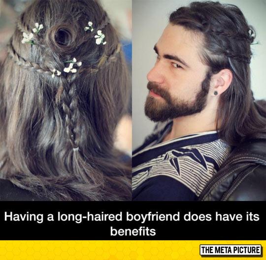 Long-Haired Boyfriend