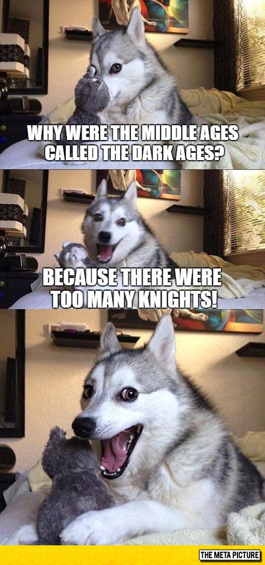 funny-pun-dog-dark-ages