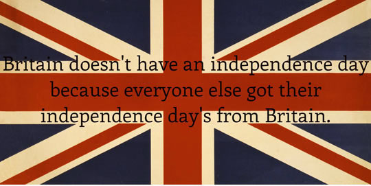 Britain's Independence Day Celebration