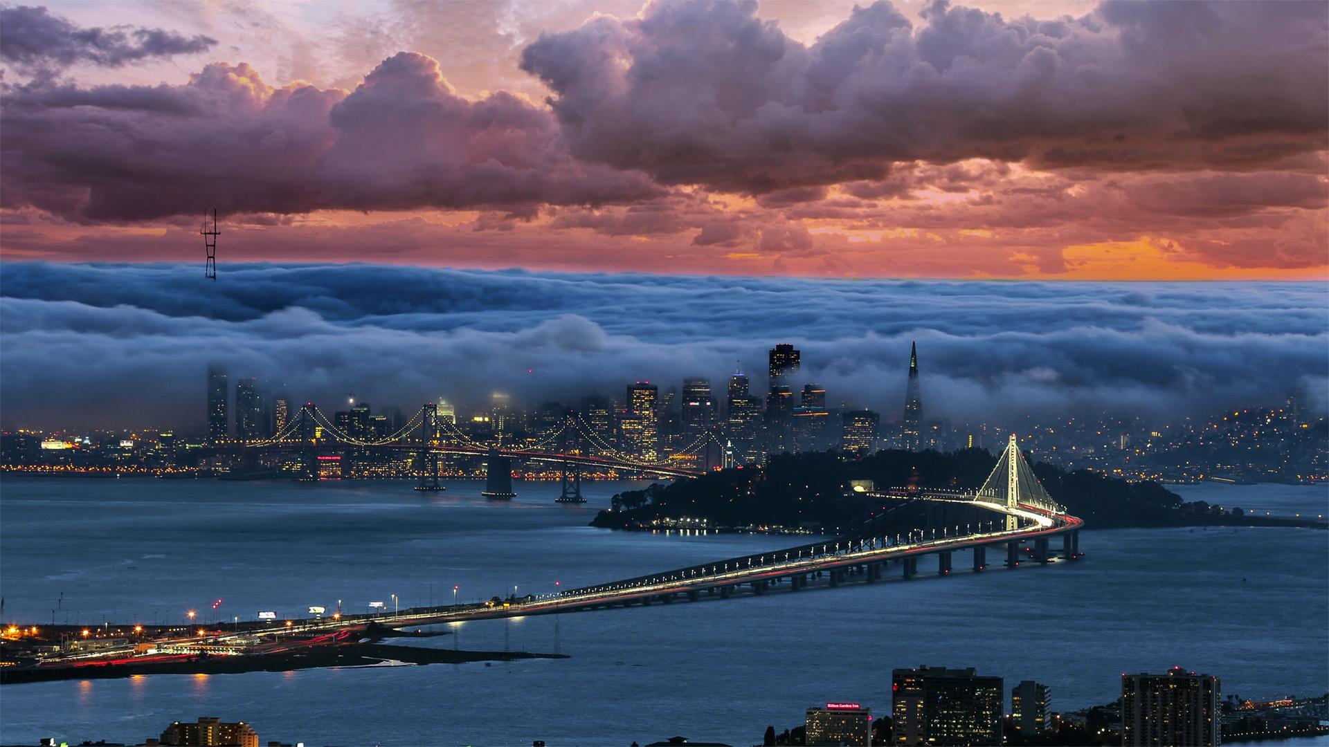 Cloudy San Francisco