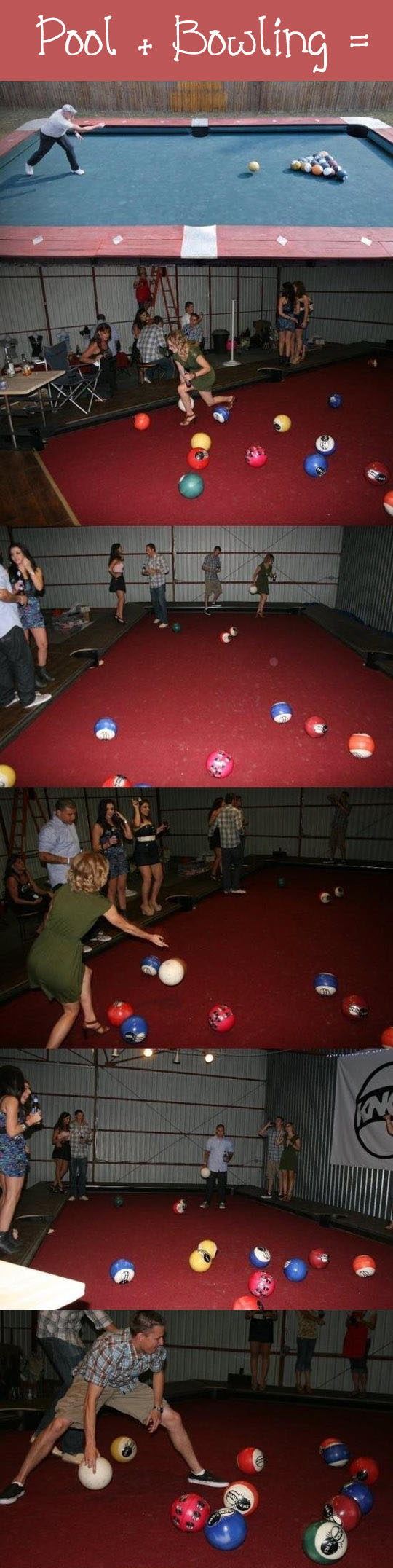 If You Mix Pool And Bowling