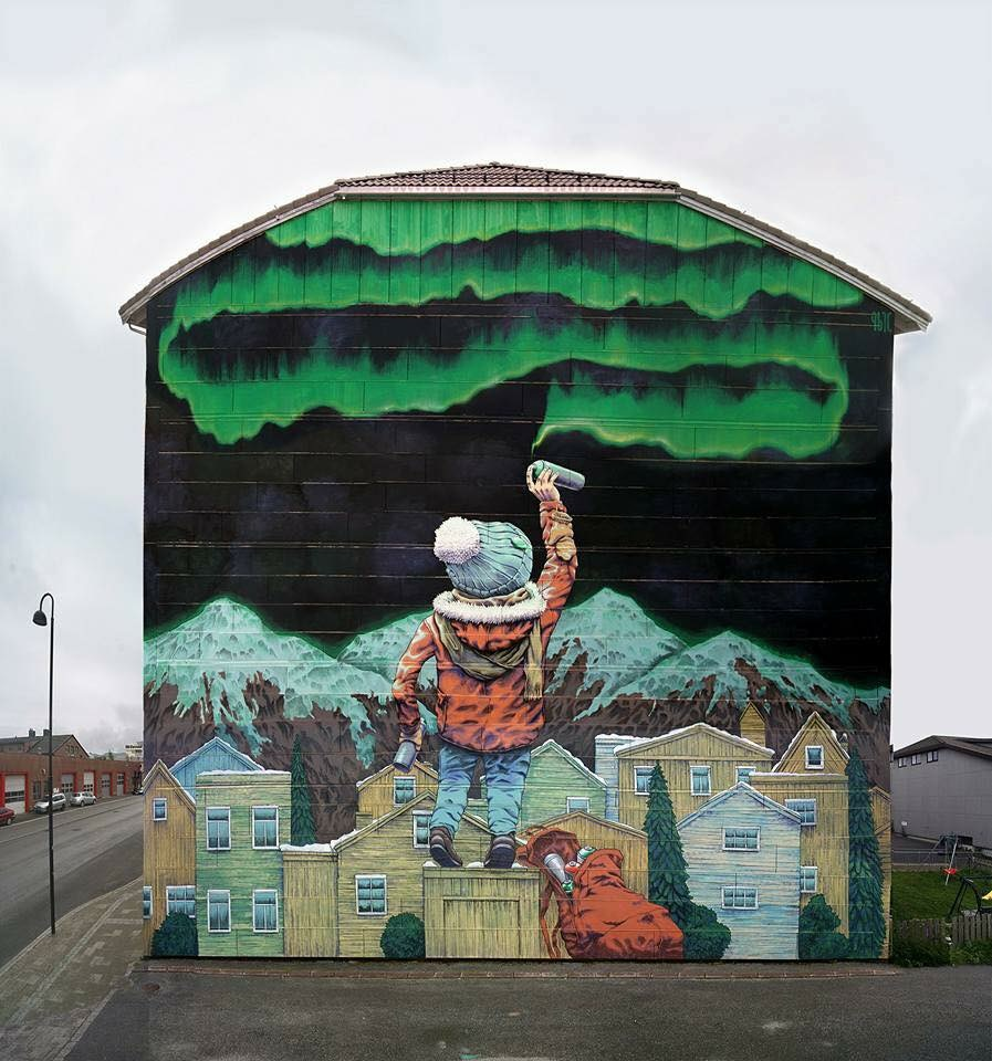 Norway Street Art
