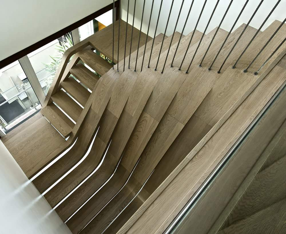 Pretty neat stairs design
