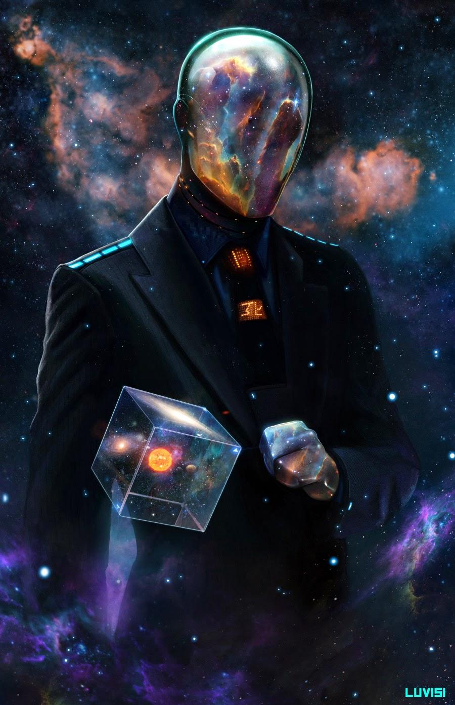 Universe man.