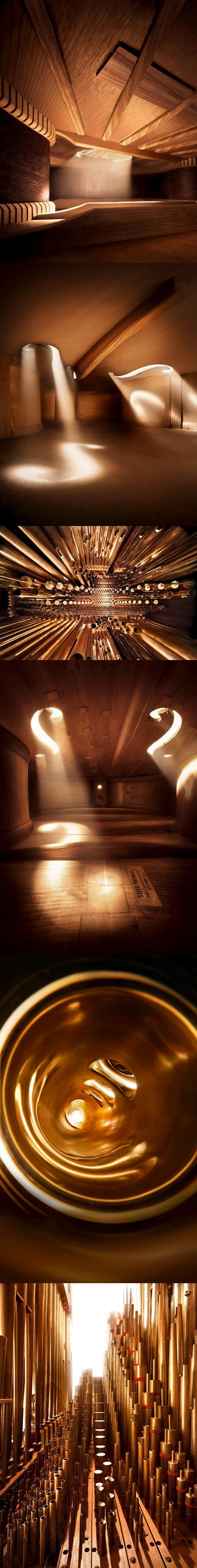 What You See When You Put A Camera Inside Musical Instruments