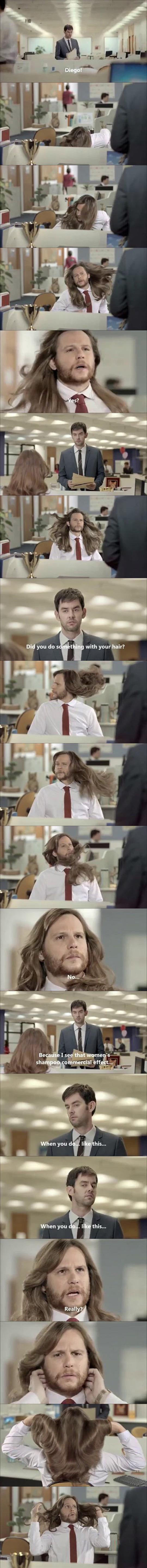 When Men Use Shampoo For Women