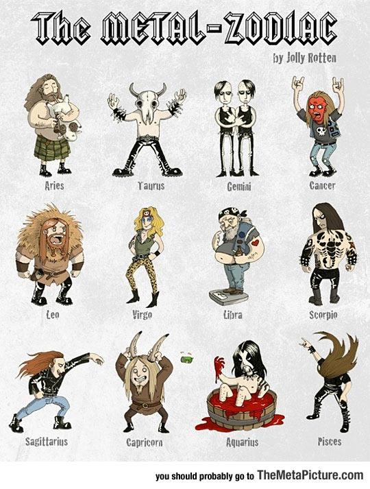 Metal Zodiac